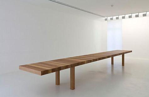 Table Au Kilometre Par Jean Nouvel Meuble Mobilier De Salon Et Decoration Maison
