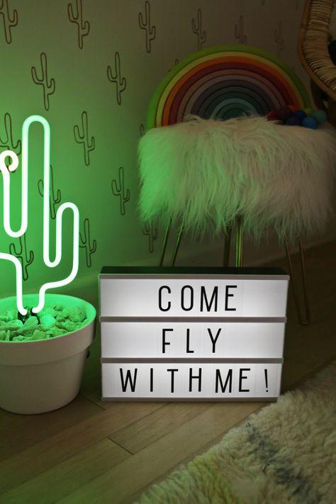 DIY – Como fazer uma Caixa de Luz Troca Letras - Decostore