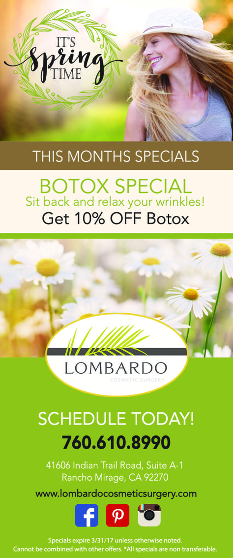 monthlyspecials Botox 10% off the month of...