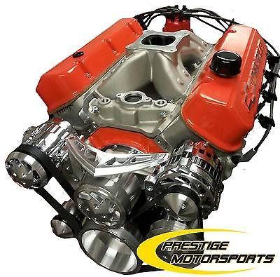 700 Hp Block Chevy 598 Stroker Custom Bbc Crate Engine Turn Key 454 496 540