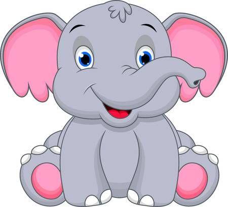 Cute Baby Elephant Cartoon Baby Elephant Cartoon Cute Elephant Cartoon Baby Art Pictures