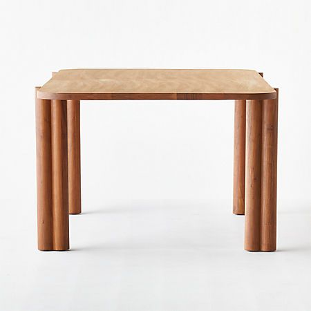 Camille Acacia Wood Dining Table Reviews Cb2 Wood Dining Table Dining Table Acacia Wood