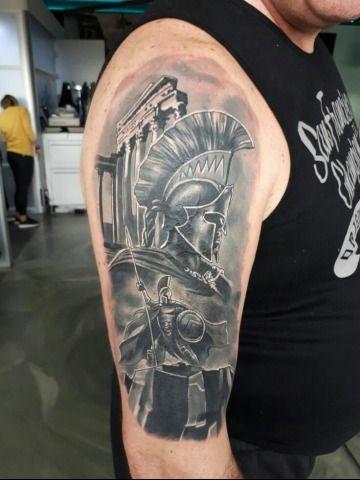 Trojan Warrior Tattoo Designs Source by