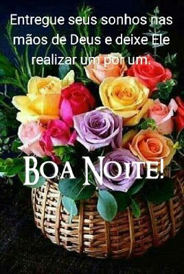 Doces Mensagens Boa Noite Flores Rosas Foto Boa Noite E
