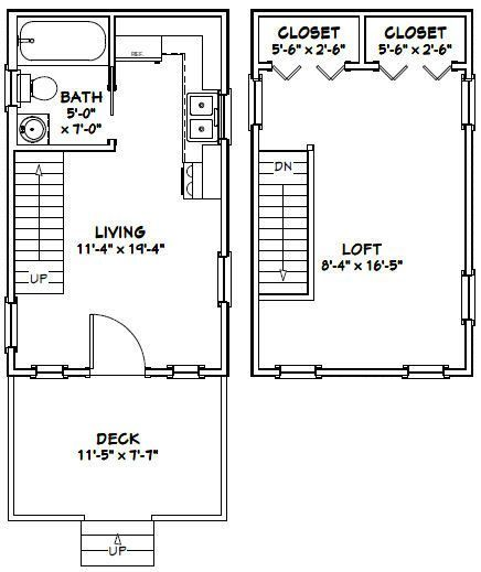 Tiny House Is Ready For Shipping 12x20 Tiny Houses Pdf Floor Plans 452 Sq By Tiny House Bi In 2020 Tiny House Floor Plans House Floor Plans Beach House Floor Plans