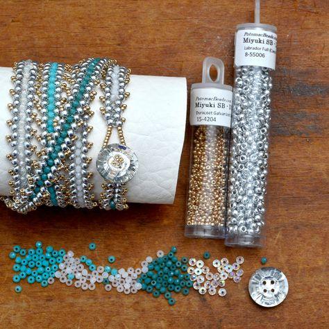 Wrap Bracelet Tutorial, Beaded Bracelets Tutorial, Beaded Bracelet Patterns, Beaded Wrap Bracelets, Bead Patterns, Bead Jewellery, Seed Bead Jewelry, Jewelry Crafts, Handmade Jewelry