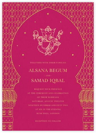 Wedding Invitations Online At Paperless Post In 2020 Indian Wedding Invitations Wedding Invitations Online Indian Wedding Invitation Cards