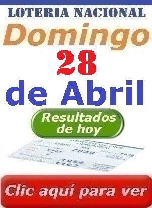 Loteria Nacional De Panama Resultados Sorteo Domingo 28 De Abril De 2019 Loteria Nacional De Panama Dominical Lotería Nacional Lotería Piramide De La Suerte
