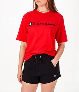 Champion Scarlet Red Heritage Graphic T-Shirt