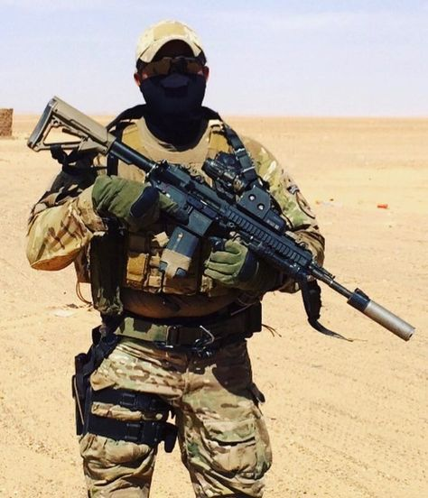 Former French SAS @rodmanjarhead somewhere in africa
