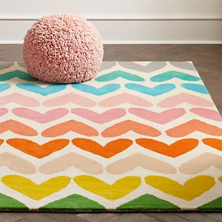 5x8 Heart To Heart Rug Reviews Crate And Barrel Kid Room Decor Kids Bedroom Designs Kids Area Rugs