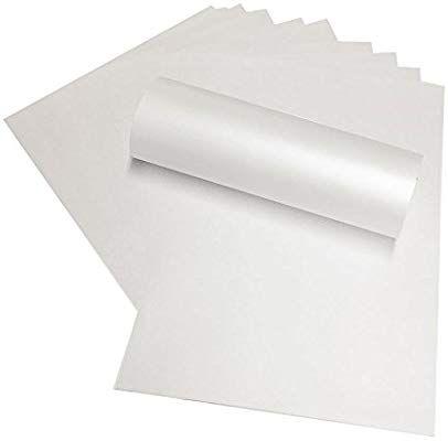 20 X A4 Frost Weiss Doppelseitig Pearl Perlglanz Papier 120 G M