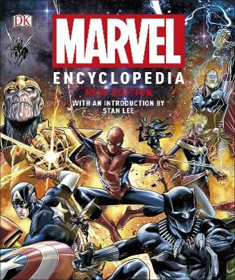 Marvel Encyclopedia, New Edition Hardcover in 2019 | 4 THE