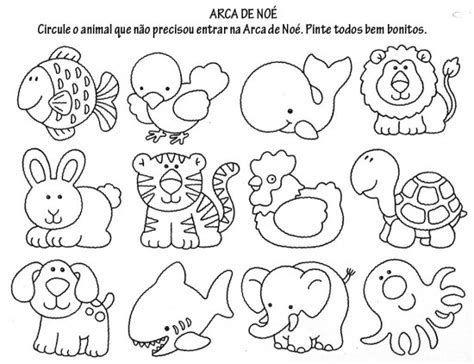 Resultado De Imagem Para Desenhos De Varios Animais Para Colorir