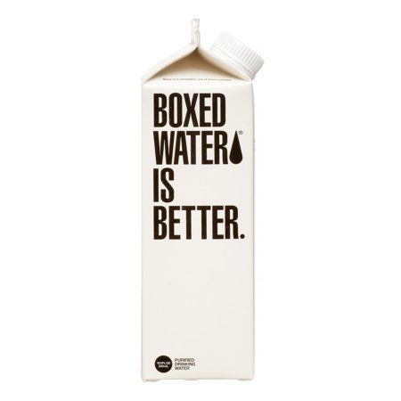 Boxed Water Is Better Water - Purified - Case of 24 -