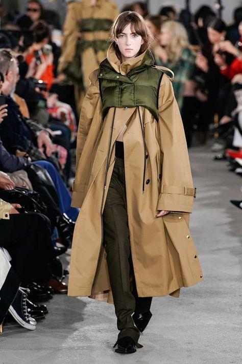 Sacai Autumn/Winter 2019 Ready-To-Wear
