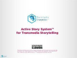 Active Story System – design methodology for transmedia storytelling | Storytelling by Química visual