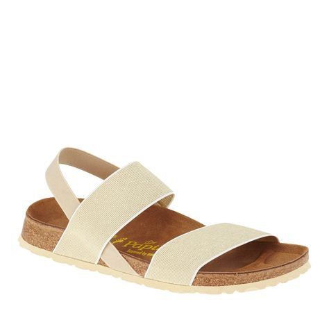 bf0886bee2818 Amazon.com   Birkenstock Womens Caterina Sandal Beige/Gold Narrow Size 37  EU (6-6.5 N US Women)   Sandals