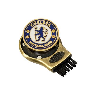 CHELSEA F.C. Golf Gruve Brush & Golf Ball Marker. Official Licensed Chelsea FC Gift. FREE DELIVERY ON ALL OF OUR GIFTS