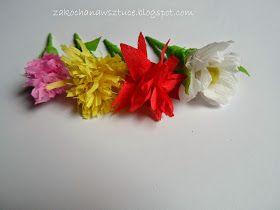 Zakochana W Sztuce Wiosenne Kwiaty Z Bibuly