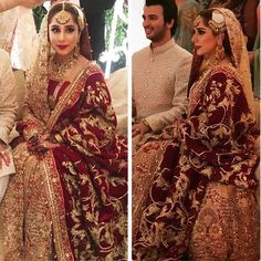 O M G Our favourite client and a friend #fatimajosh looks stunning in regal Ali Xeeshan bridal #brideoftheyear #alixeeshansignaturebride