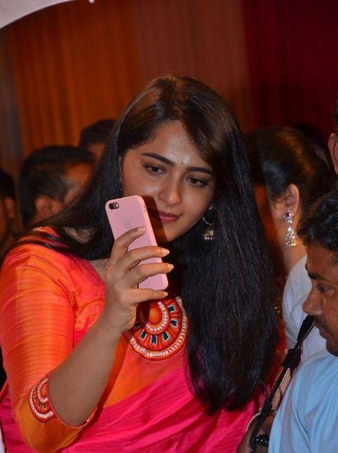 Anushka Shetty In Red Saree At Shyam Prasad Reddy Daughter Wedding