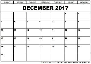 Free Printable Calendar December Free Printable Calendar