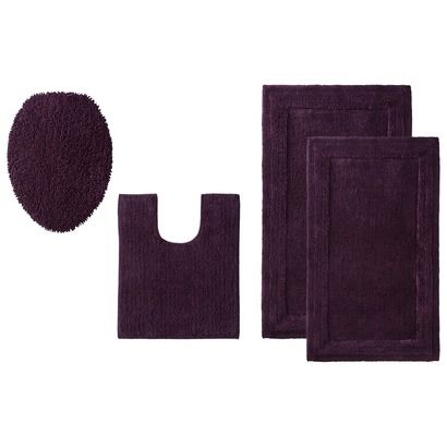 Thomas O Brien Bath Rug Collection Pike Purple Opens In A New