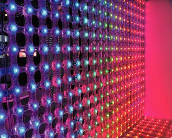 Traxon LED Mesh RGB flexible media display in acrylic by Traxon Technologies. 201-508-1570; traxontechnologies.com. | Light Fixtures + Sources | Pinterest ...  sc 1 st  Pinterest & Traxon LED Mesh RGB flexible media display in acrylic by Traxon ... azcodes.com
