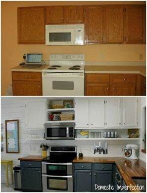 Top Tips On Sensible Home Improvement With Images Budget Kitchen Remodel Kitchen Remodeling Projects Kitchen Diy Makeover