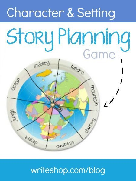 Story Planning Game Character And Setting Writeshop Character And Setting Story Planning Homeschool Writing