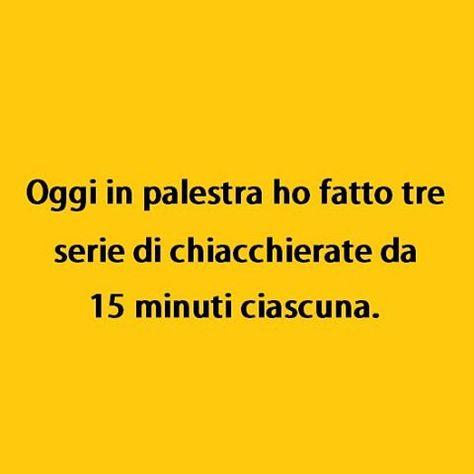 Pigrizia is the way. (By postofisso2012) #tmlplanet #palestra #ragazzi #ragazze