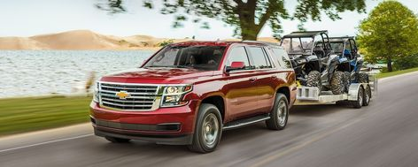 2020 Chevrolet Tahoe Full Size Suv Towing 2020 壁紙 赤