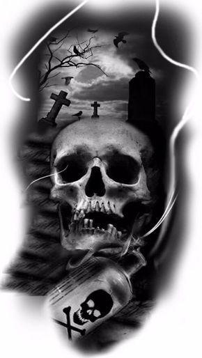 Dark Grave Google Zoeken Friedhof Tattoo