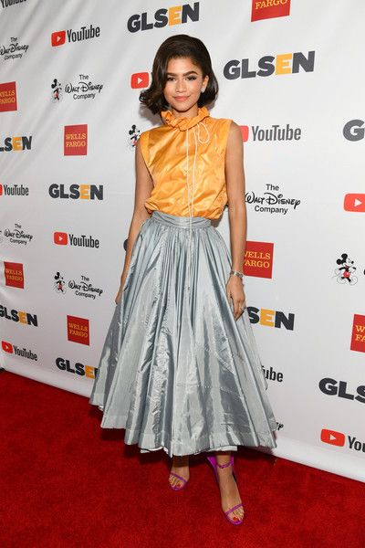 Honoree Zendaya attends the 2017 GLSEN Respect Awards.