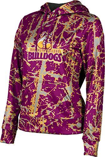 School Spirit Sweatshirt ProSphere Boston University Girls Pullover Hoodie Spray Over