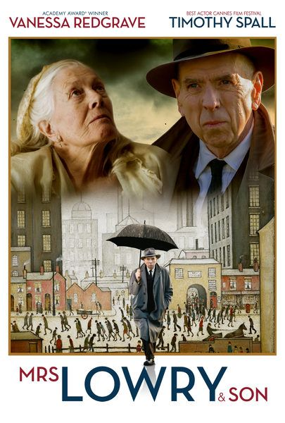 Movie Trailers Mrs Lowry Son Trailer In Mrs Lowry Son A Portrait Of The Artist Ls Lowry And The Rela Romantic Movies Vanessa Redgrave British Films
