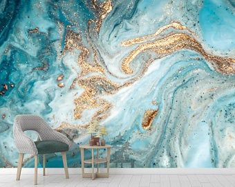 Almond Blossoms Peel N Stick Or Prepasted Wallpaper Removable Vinyl Free Non Toxic Wall Painting Living Room Painting Textured Walls Textured Walls