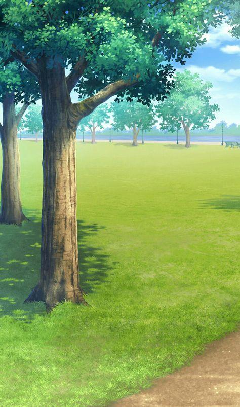 St James Park Location Of The Hole Leading To Cradle Cenario Anime Cenario Casa Anime