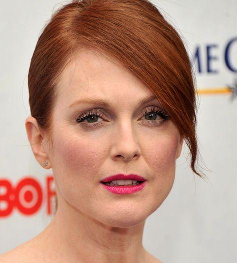 (2) Twitter   Ginger hair color, Dark lipstick, Julianne moore