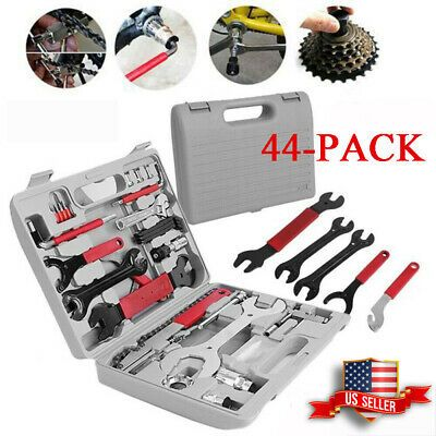 Details About 44pcs Complete Bike Bicycle Repair Tools Tool Kit