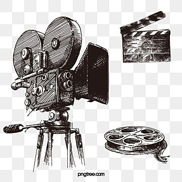 Movie Clipart Camera Clipart Movie Assignment Video Camera Light Sketch Material Film Elements Png Material Hand Camera Drawing How To Draw Hands Movie Clipart