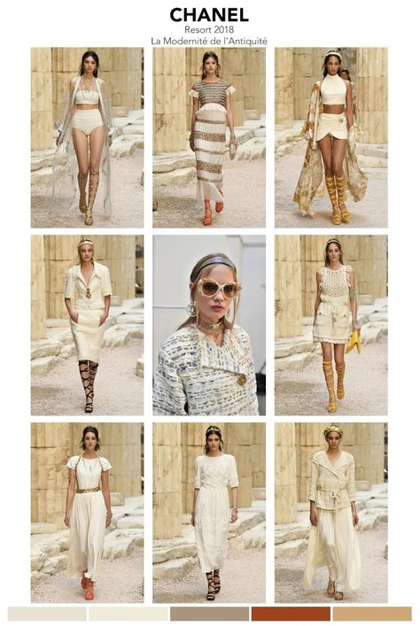 Chanel's Cruise 2018 collection