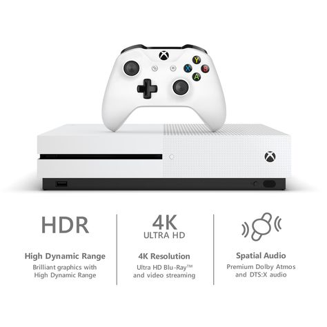 Microsoft Xbox One S 1tb Fortnite Bundle White 234 00703 Tb