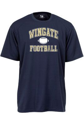 Dry Fit Football Tee. $19.95.  Order now & ship today! Call 704-233-8025.