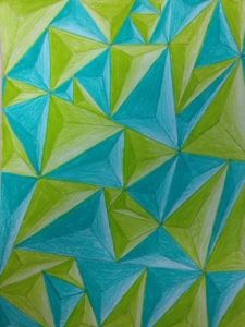 value project with geometric design