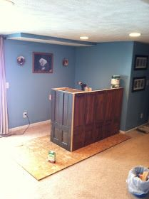 Build A Home Bar Using Recycled Materials Is An Inexpensive Way To Do It  This Is