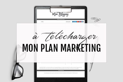 Plan marketing pour photographe