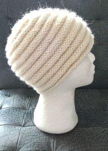 tuto bonnet aig 5.5 ,52cm mais facilement adaptable Tuto Bonnet Tricot,  Tricot Bonnet Femme d68166dd329