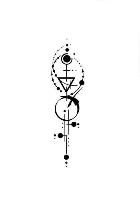 Neosymbolism design by nen.vesten #symbols #neosymbolism #minimal #minimalism #artwork - - #smalltattoos